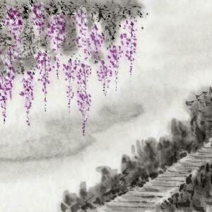 涵紫曌翩翩蝶舞